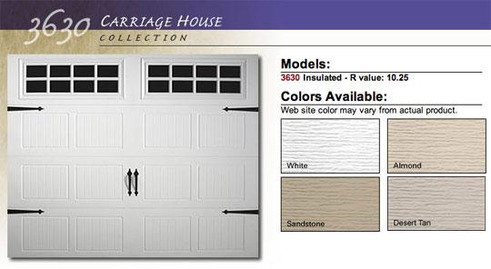 Doorlink Model 3630 Residential Steel Garage Doors Saint Louis